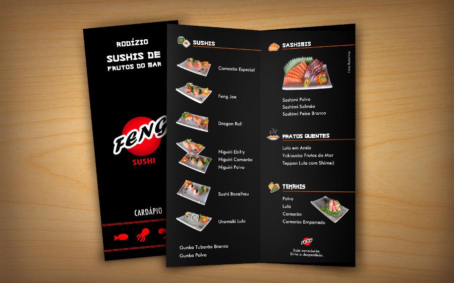 Card pios feng sushi portfolio evelise chagas - Comodas orientales ...