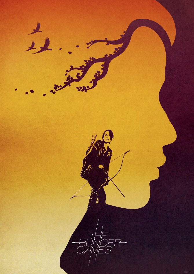 POSTER DESIGN MOVIES The Hunger Games Movie Poster